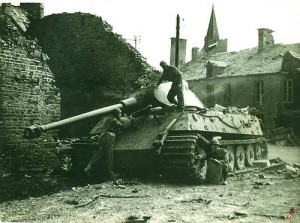 Tiger II, Panzer Abteilung 503, au Plessis-Grimoult, août 1944 (august 1944)